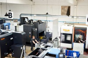 CNC Machining in Sussex at Finecast